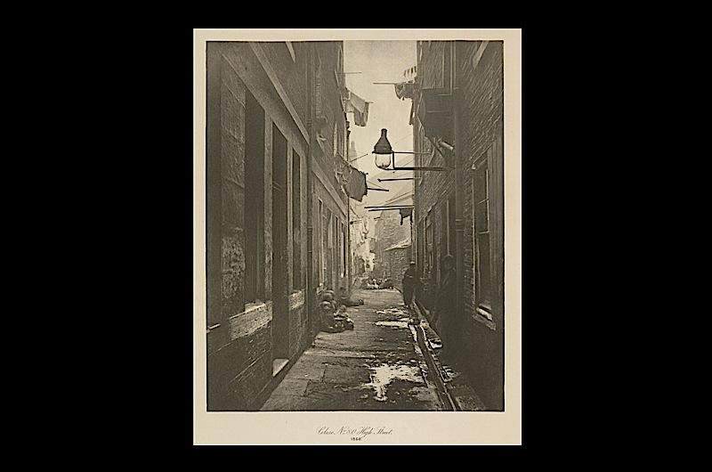 A Glaswegian alley.