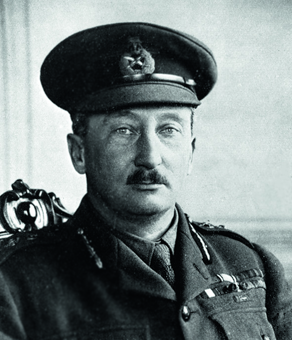 DRFK6M General Sir Hubert Gough, British Army officer. Image shot 1918. Exact date unknown.