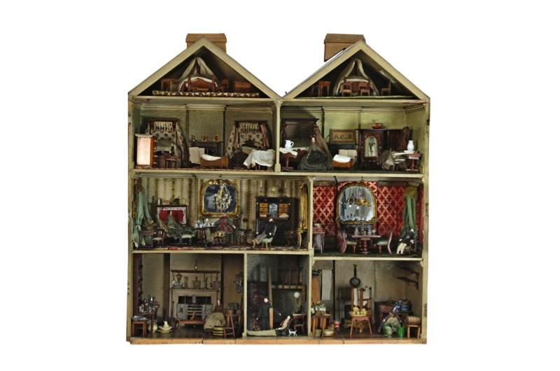 Doll house interior view