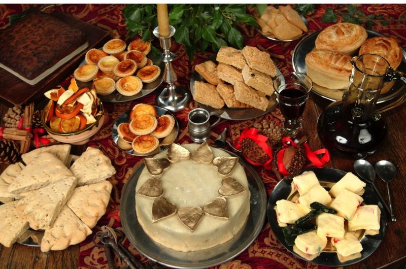 Tudor Food Menu