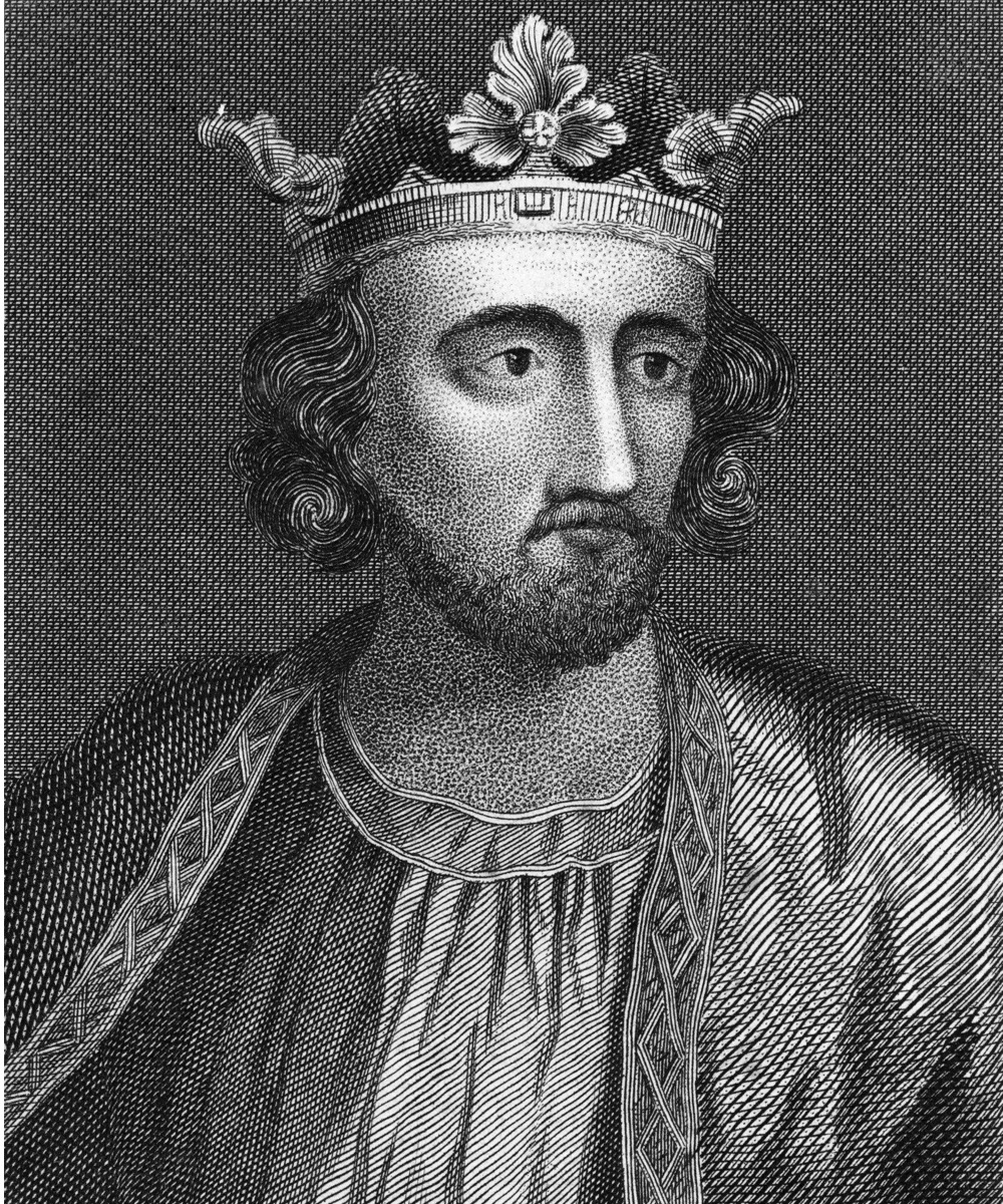King Edward I of England (1239 - 1307), known as Edward Longshanks, circa 1272. An engraving by Romney. (Photo by Kean Collection/Getty Images)