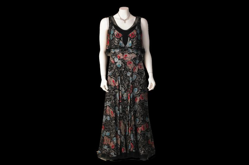A 1930s evening dress. (© National Museums Liverpool)