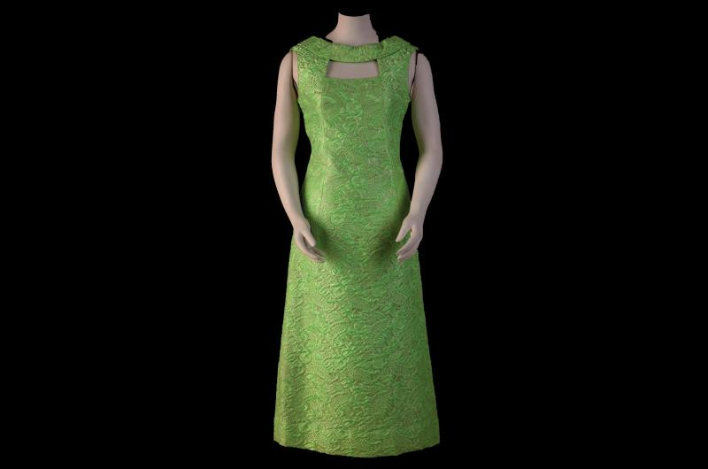 A 1960s evening dress. (© National Museums Liverpool)