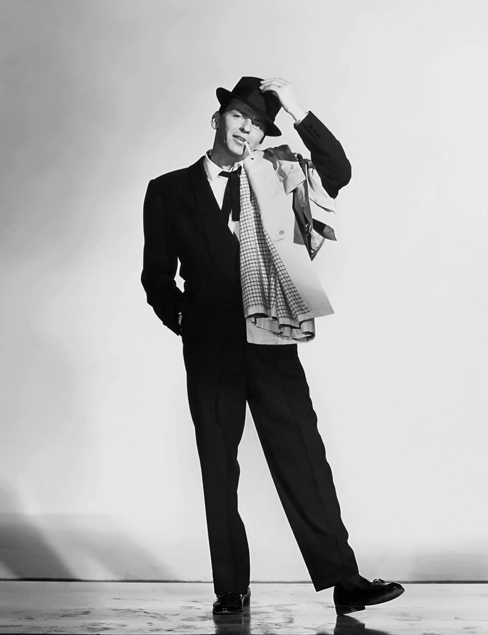LOS ANGELES - 1957:  Singer and actor Frank Sinatra poses for a publicity still for the movie 'Pal Joey' in 1957 in Los Angeles, California. (Photo by Donaldson Collection/Getty Images) /Getty Images)