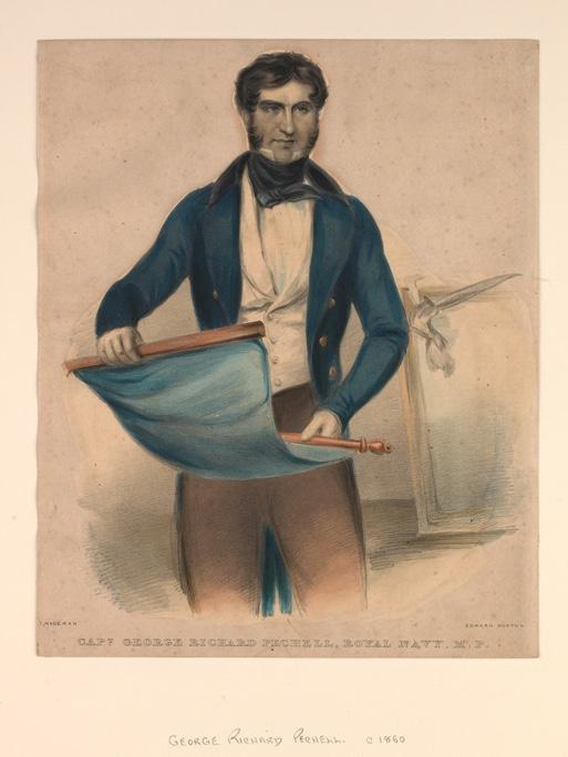 PAD3655; Captain George Richard Pechel, Royal Navy, M.P