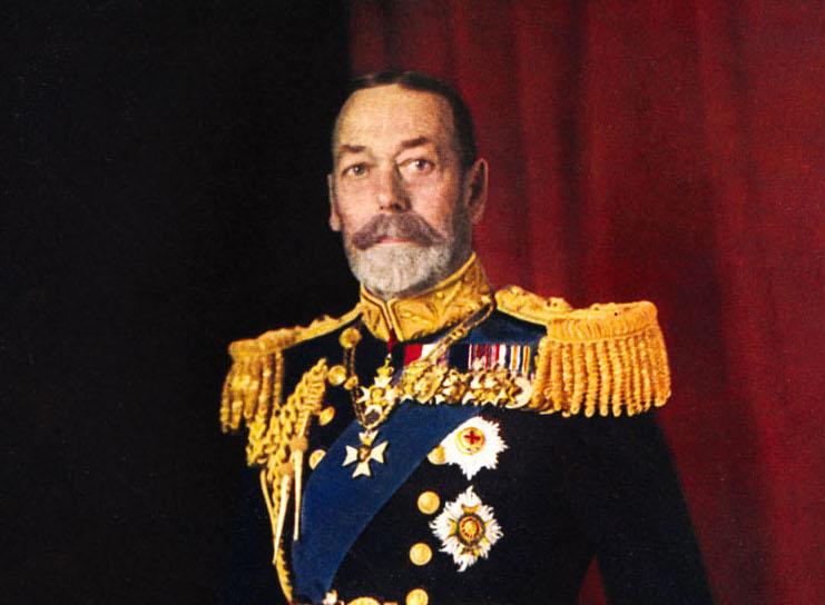 Painting of George V