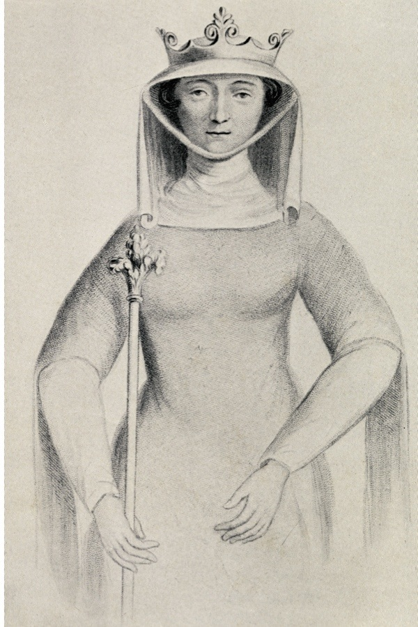 UNSPECIFIED - CIRCA 1800: Isabella of France circa. 1295 to 1358 aka the She-wolf of France, Queen consort of Edward II of England. From the book Our Queen Mothers by Elizabeth Villiers. (Photo by Universal History Archive/Getty Images)