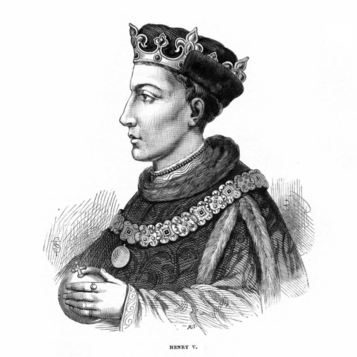 Henry V, famous for his victory at the battle of Agincourt.