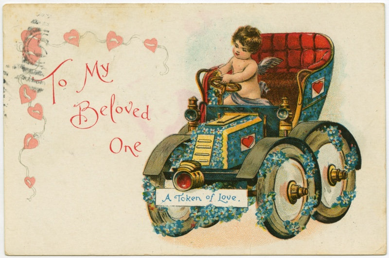 A brief history of Valentines Day cards  History Extra