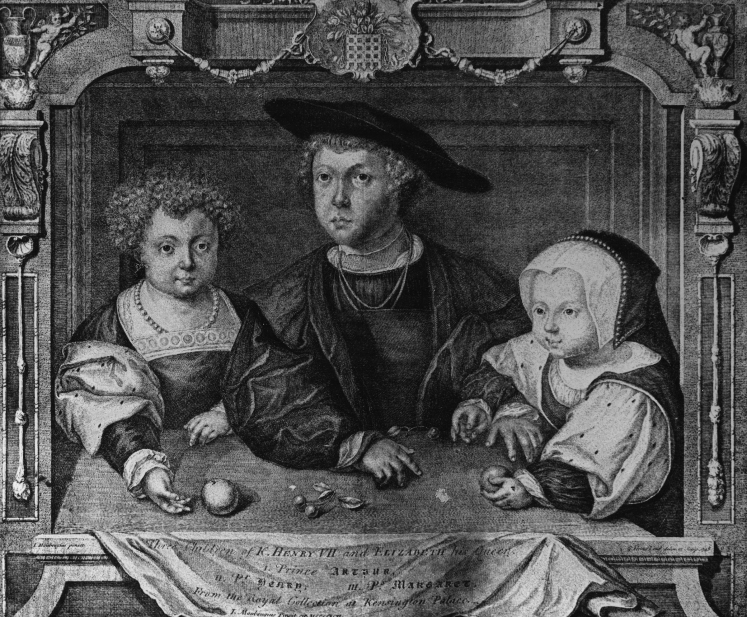 The children of Henry VII