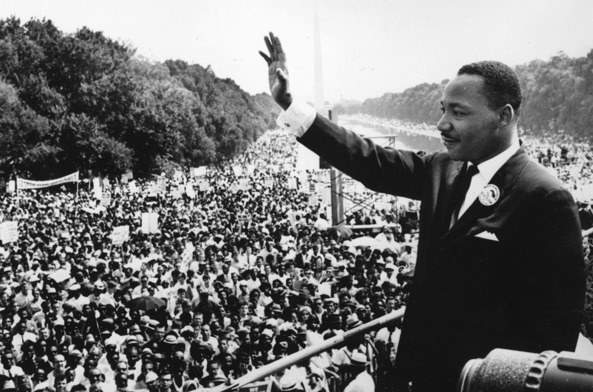 is martin luther king s i have a dream the greatest speech in  black american civil rights leader martin luther king 1929 1968 addresses crowds during