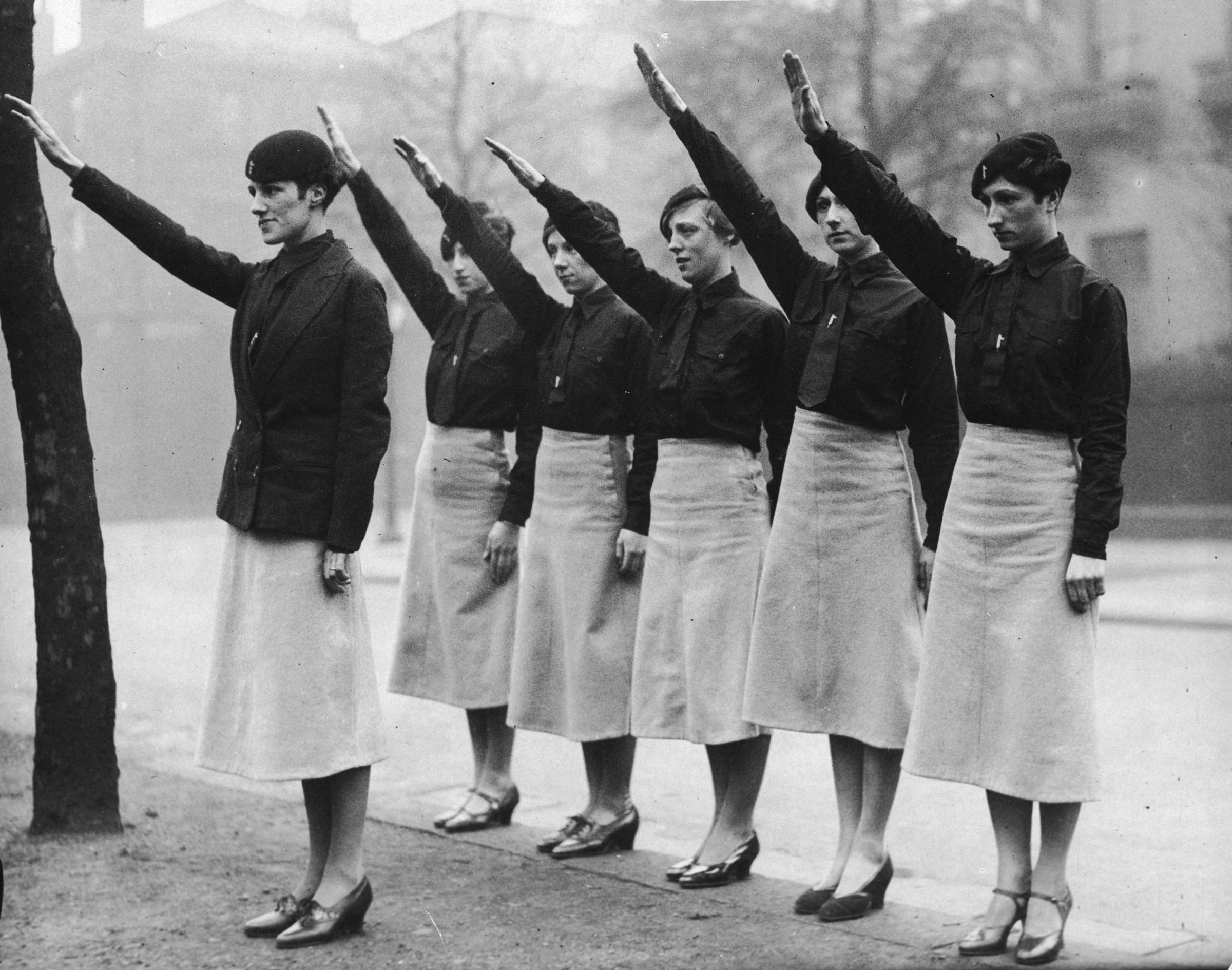 Female Blackshirts in Liverpool
