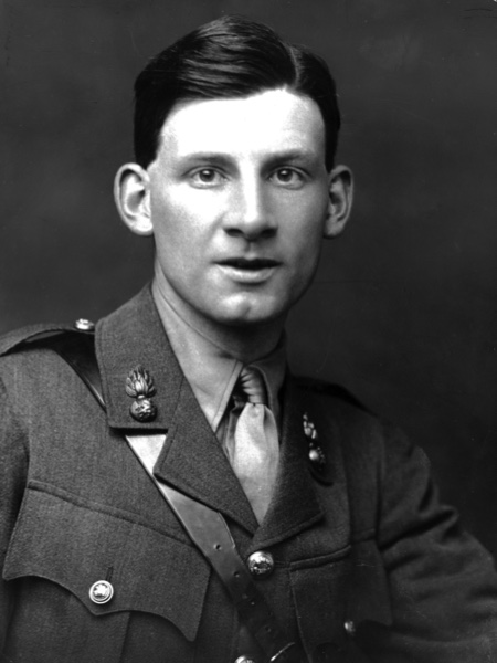Sassoon in uniform. (Getty Images)