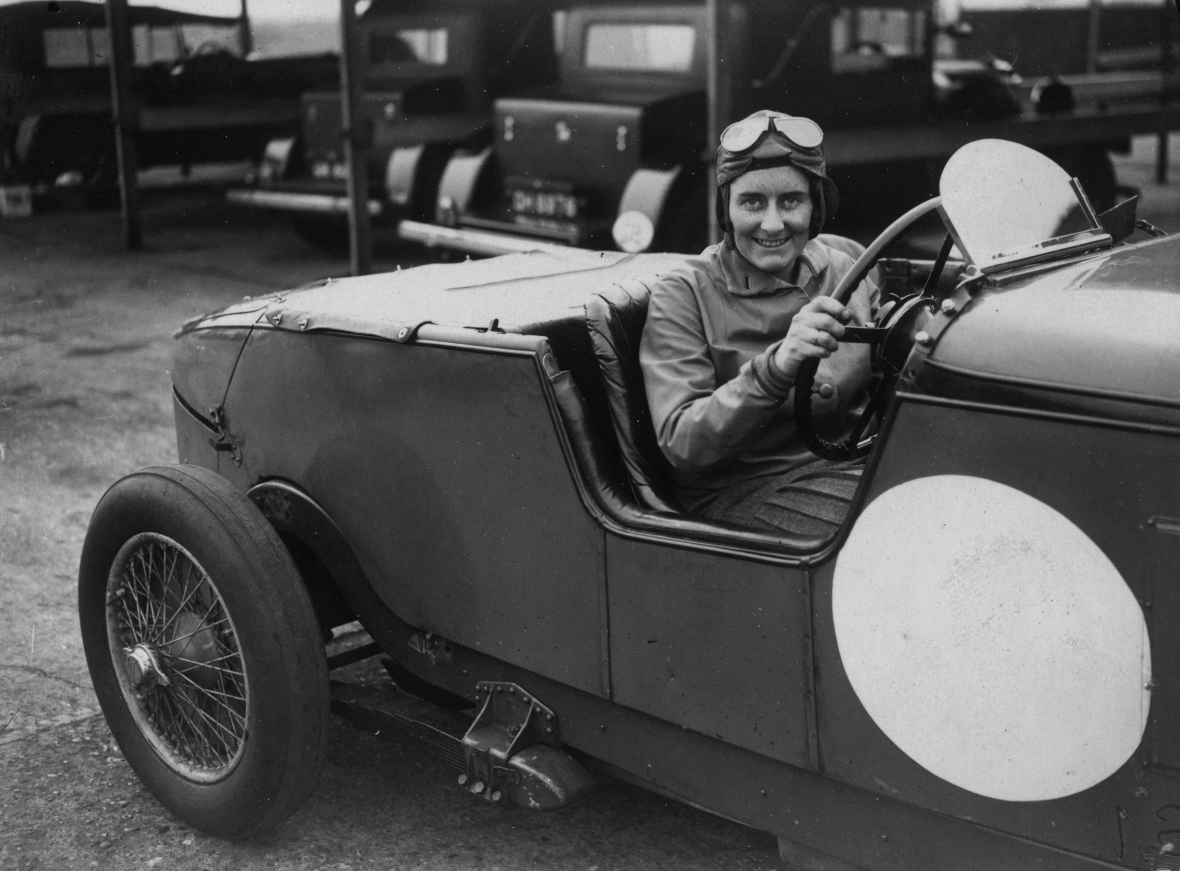 Motorcar racer Fay Taylour