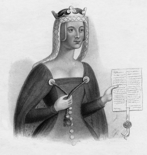 A 19th-century illustration of Matilda of Scotland