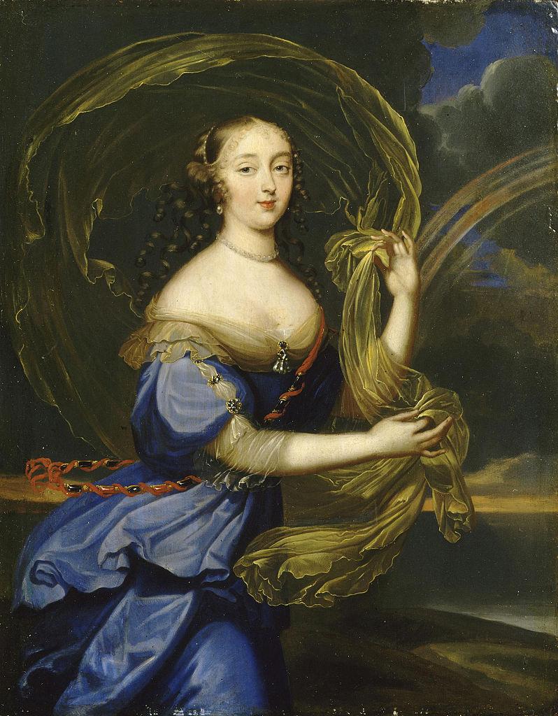 Françoise-Athénaïs de Rochechouart, marquise de Montespan (1640-1707), as Iris. Found in the collection of Musée de l'Histoire de France, Château de Versailles. (Photo by Fine Art Images/Heritage Images/Getty Images)