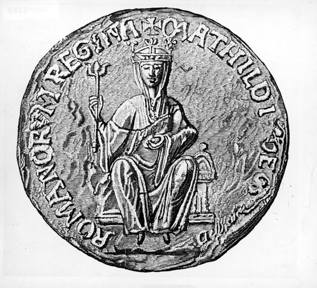 The seal of the Empress Maud