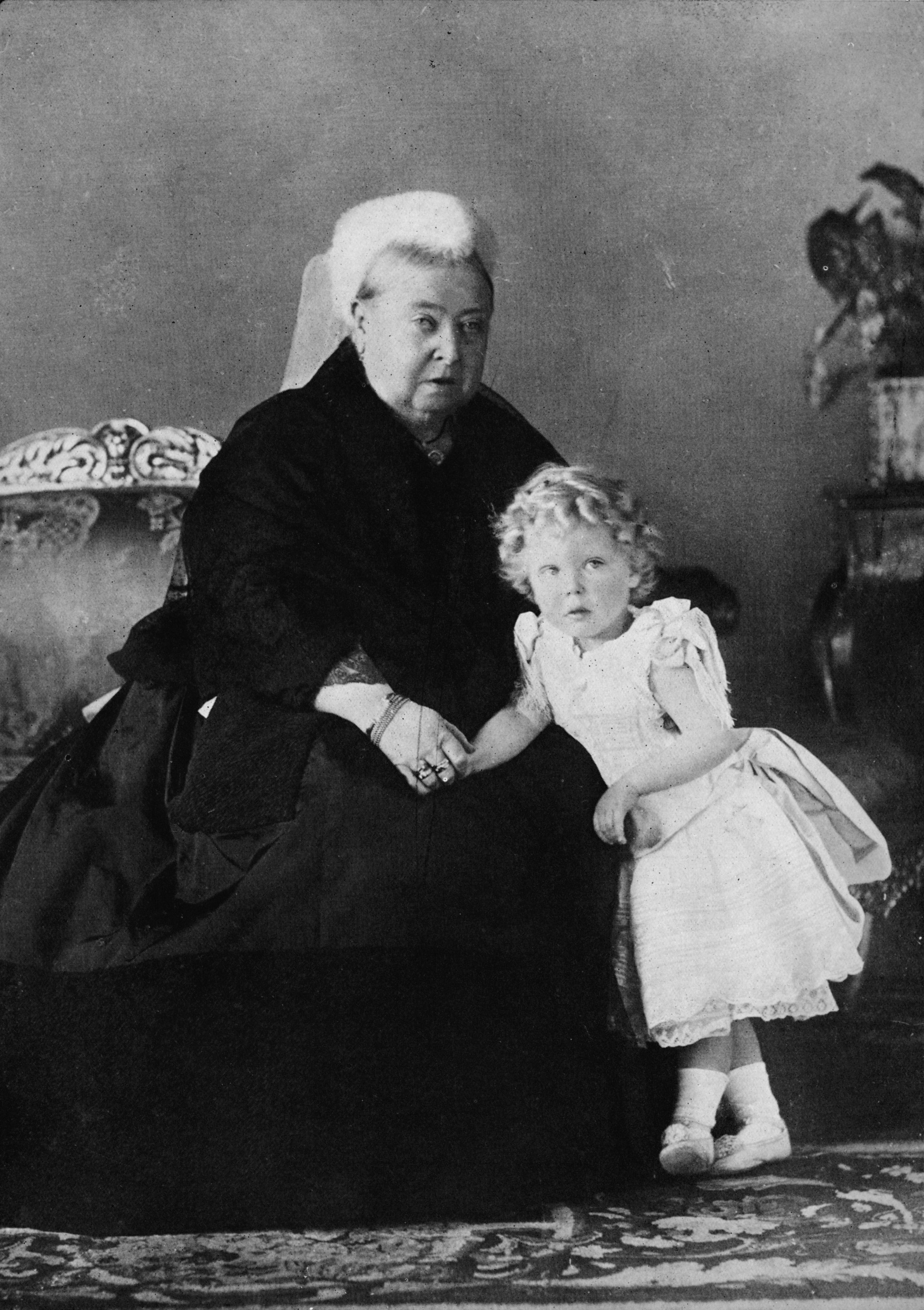 Queen Victoria and Edward VIII