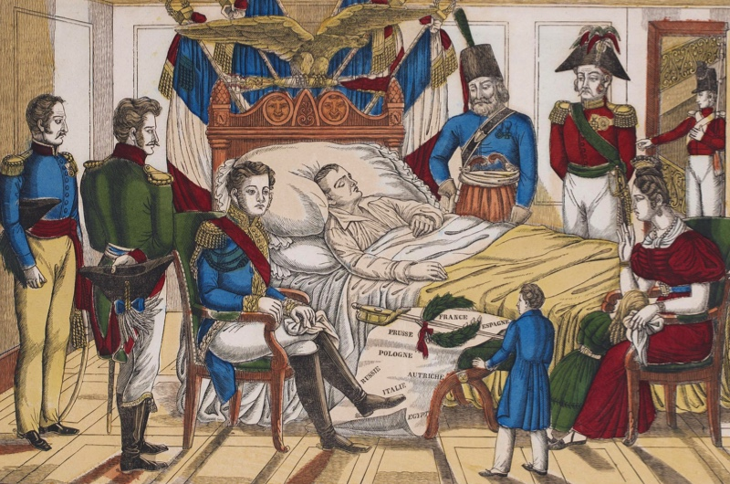 Image result for the death of france's napoleon bonaparte