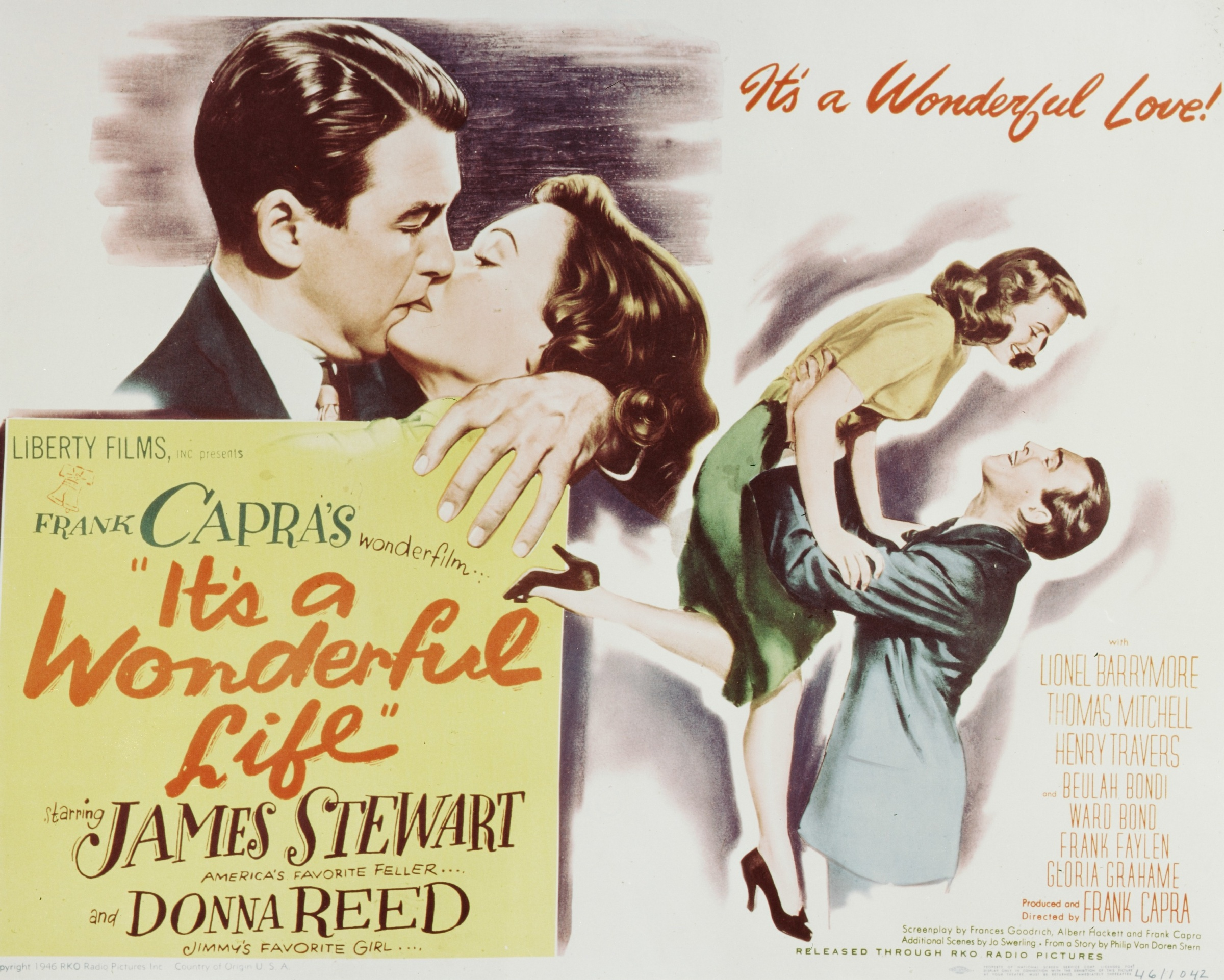 'It's A Wonderful Life' poster