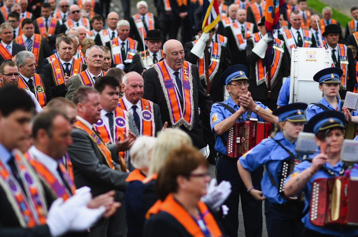 <> on July 9, 2017 in Portadown, Northern Ireland.
