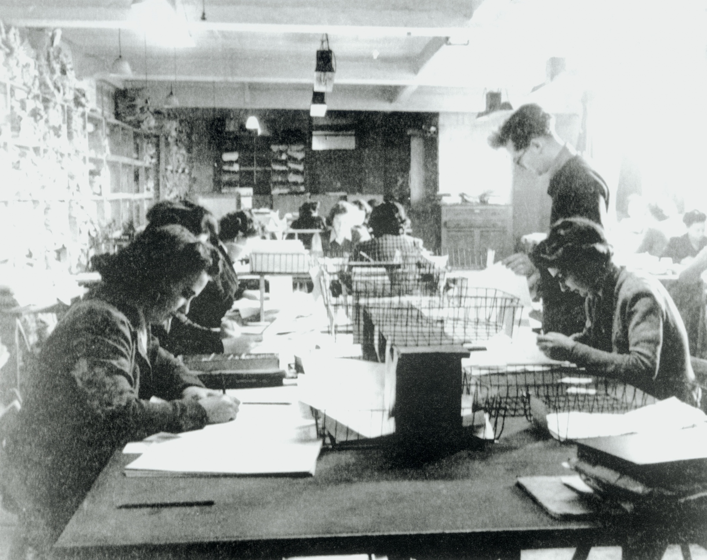 Hut 3 priority teams at Bletchley Park, Buckinghamshire