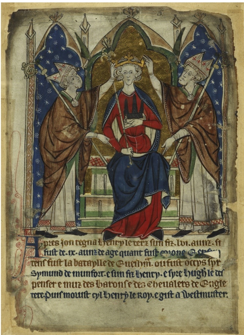 The coronation of King Henry III, 13th century. Found in the collection of British Library. Artist :  Anonymous. (Photo by Fine Art Images/Heritage Images/Getty Images)
