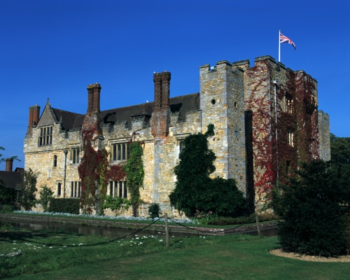 Hever Castle, Kent. The seat of the Boleyn family
