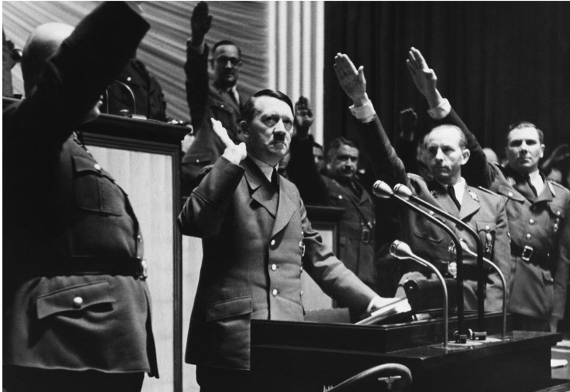 GERMANY - DECEMBER 11:  Speech Of Hitler The Day Of War Declaration Against United State In Germany On December 11St 1941  (Photo by Keystone-France/Gamma-Keystone via Getty Images)