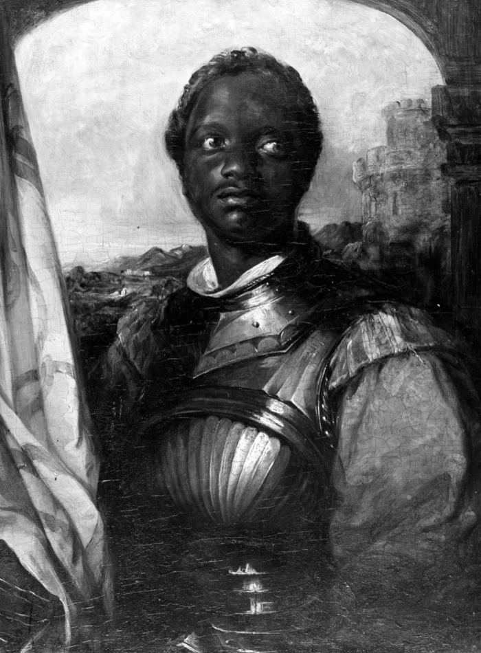 Painting of the actor Ira Aldridge, possibly in the role of Othello, Walters Art Museum, Othello, attributed to William Mulready, Irish, 1786 1863, oil on fabric, gift of the Hon Francis D Murnaghan Jr, Baltimore, Maryland, July 1, 1987. (Photo by Afro American Newspapers/Gado/Getty Images)
