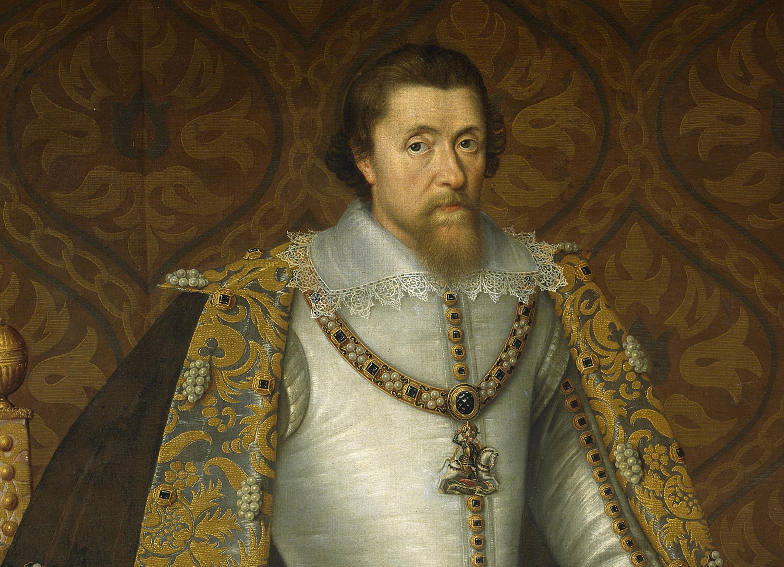 Portrait of James I