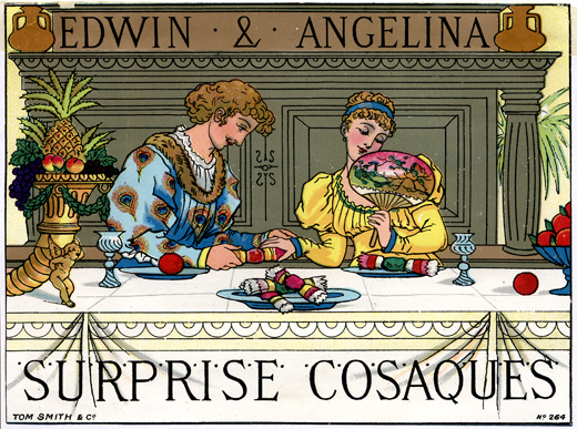 Tom Smith's Surprise Cosaques, Christmas Crackers 1878     Date: 1878