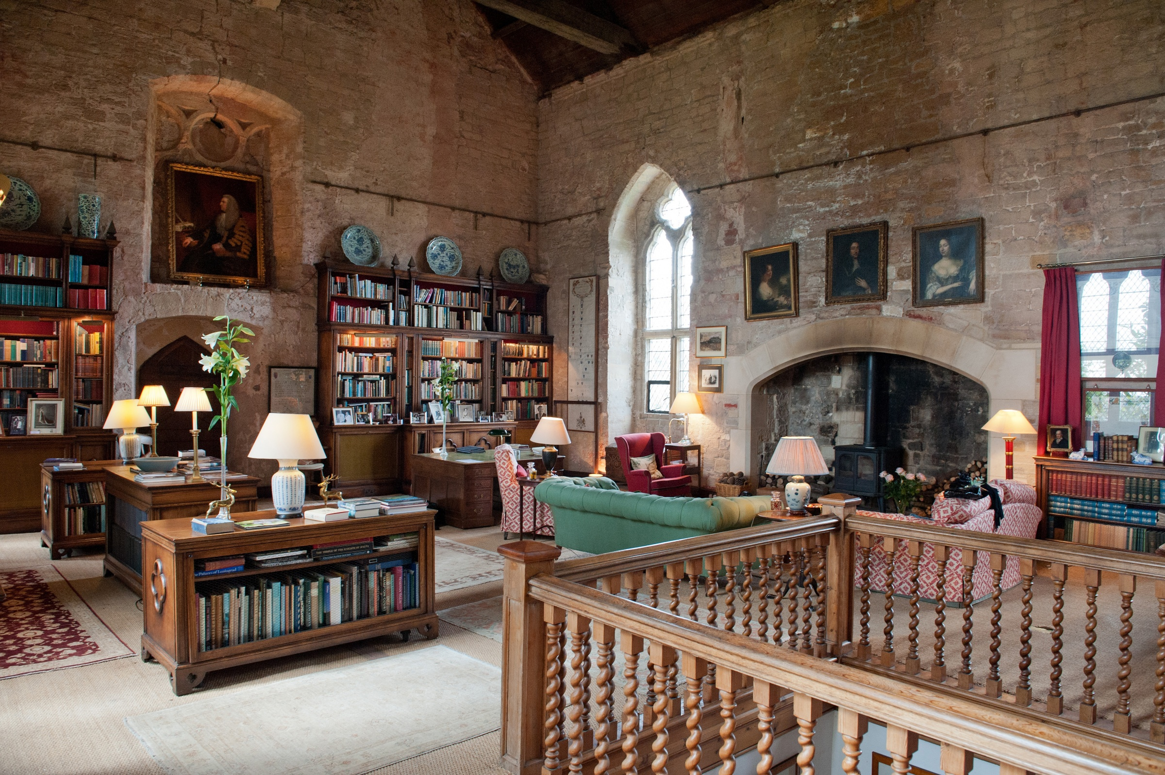 Markenfield Hall in North Yorkshire is a small house – for a glimpse of life in a manor house in late medieval England, this is the place.