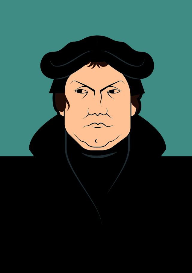 Martin Luther copy