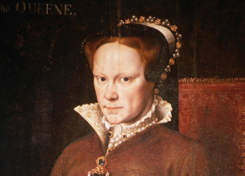 Portrait of Mary Tudor