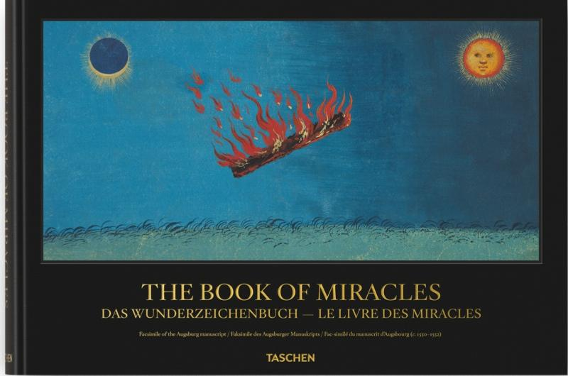 An illustration from the Book of Miracles