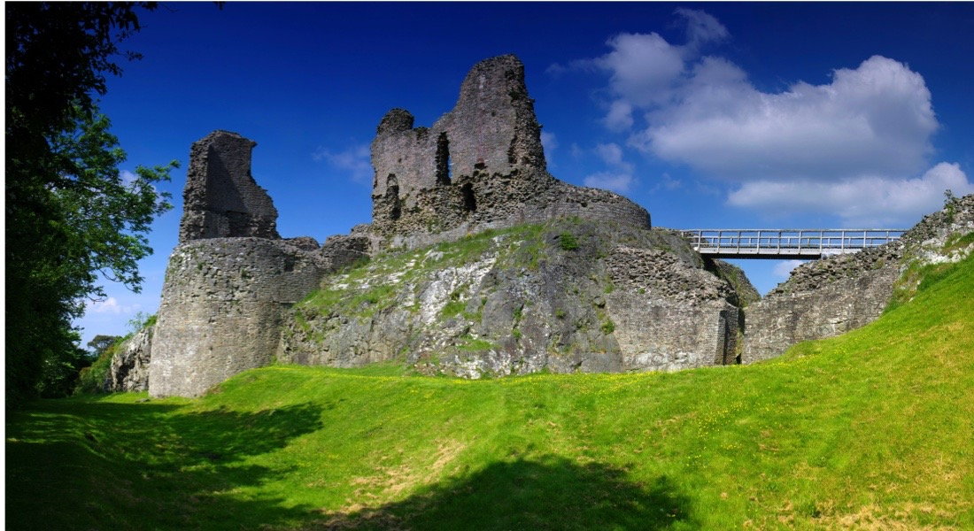 Montgomery Castle. (Photo by the Photolibrary Wales/Alamy Stock Photo)