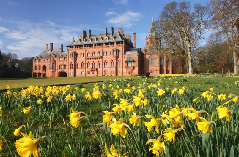 Mount Stuart, a house built for built for John Crichton-Stuart, 3rd Marquess of Bute. (© Mount Stuart)