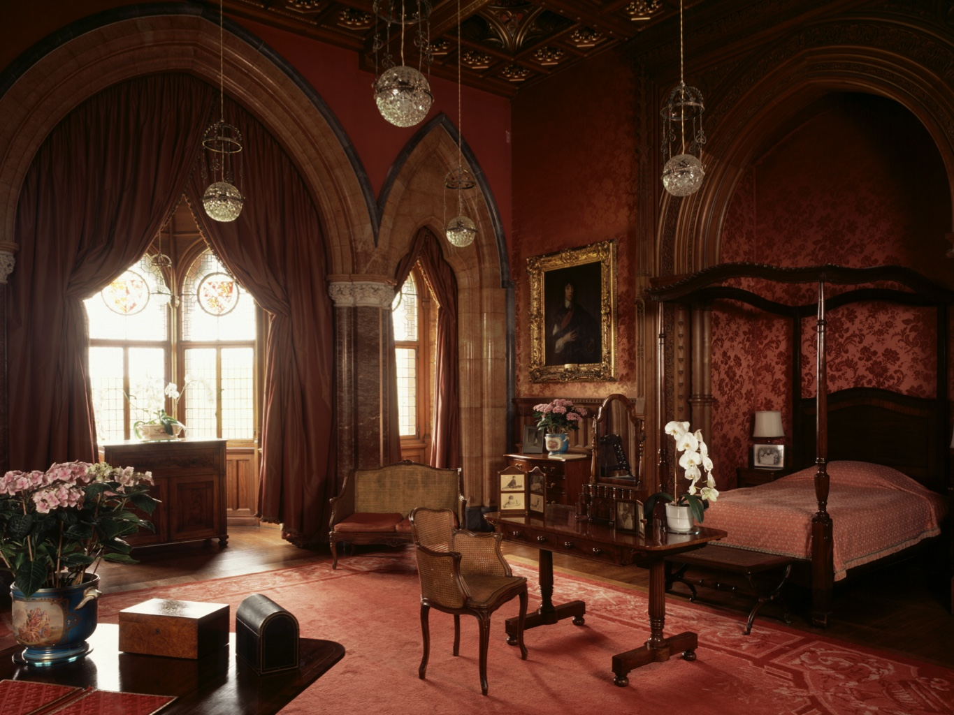 The Lady Bute room at Mount Stuart.