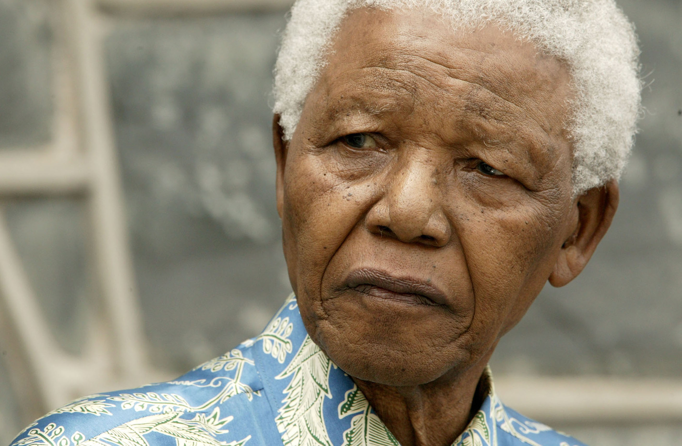 Photo of Nelson Mandela