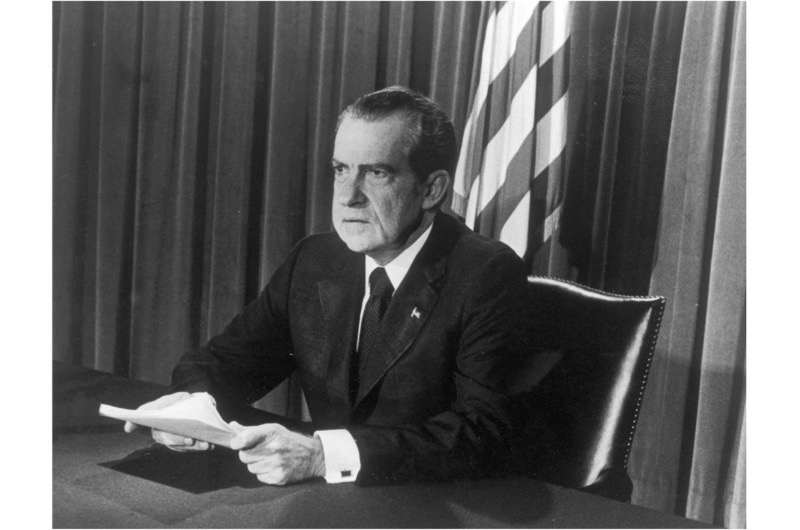 President Nixon. (Getty Images)
