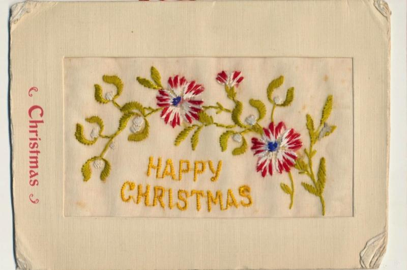 A Christmas card from the First World War