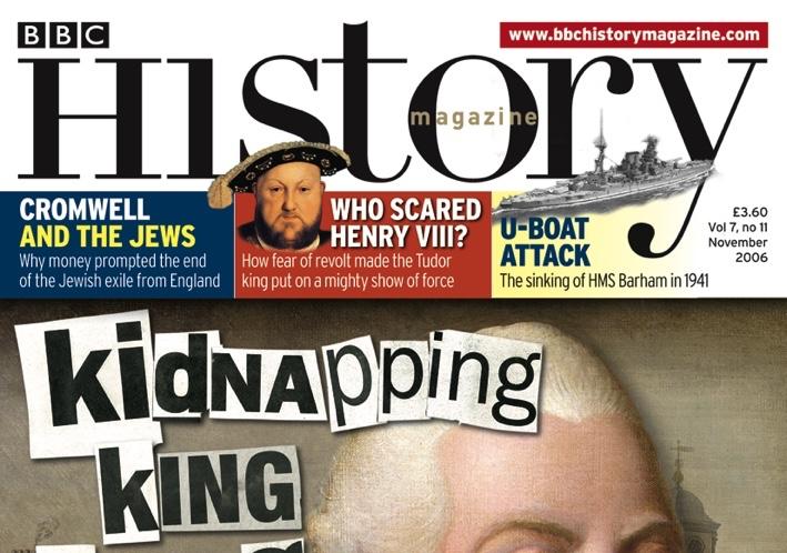 November 2006 cover