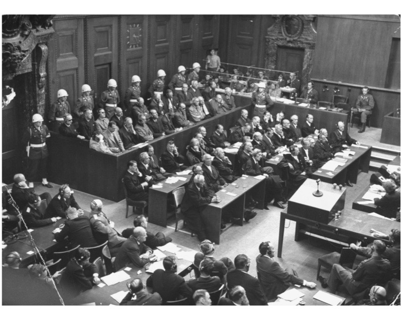 what happened to the nuremberg trials history essay Albert speer in his jail cell, nuremberg, 1945 with the draft memoir complete and clandestinely transmitted, speer sought a new project he found one while taking his daily exercise, walking in circles around the prison yard.