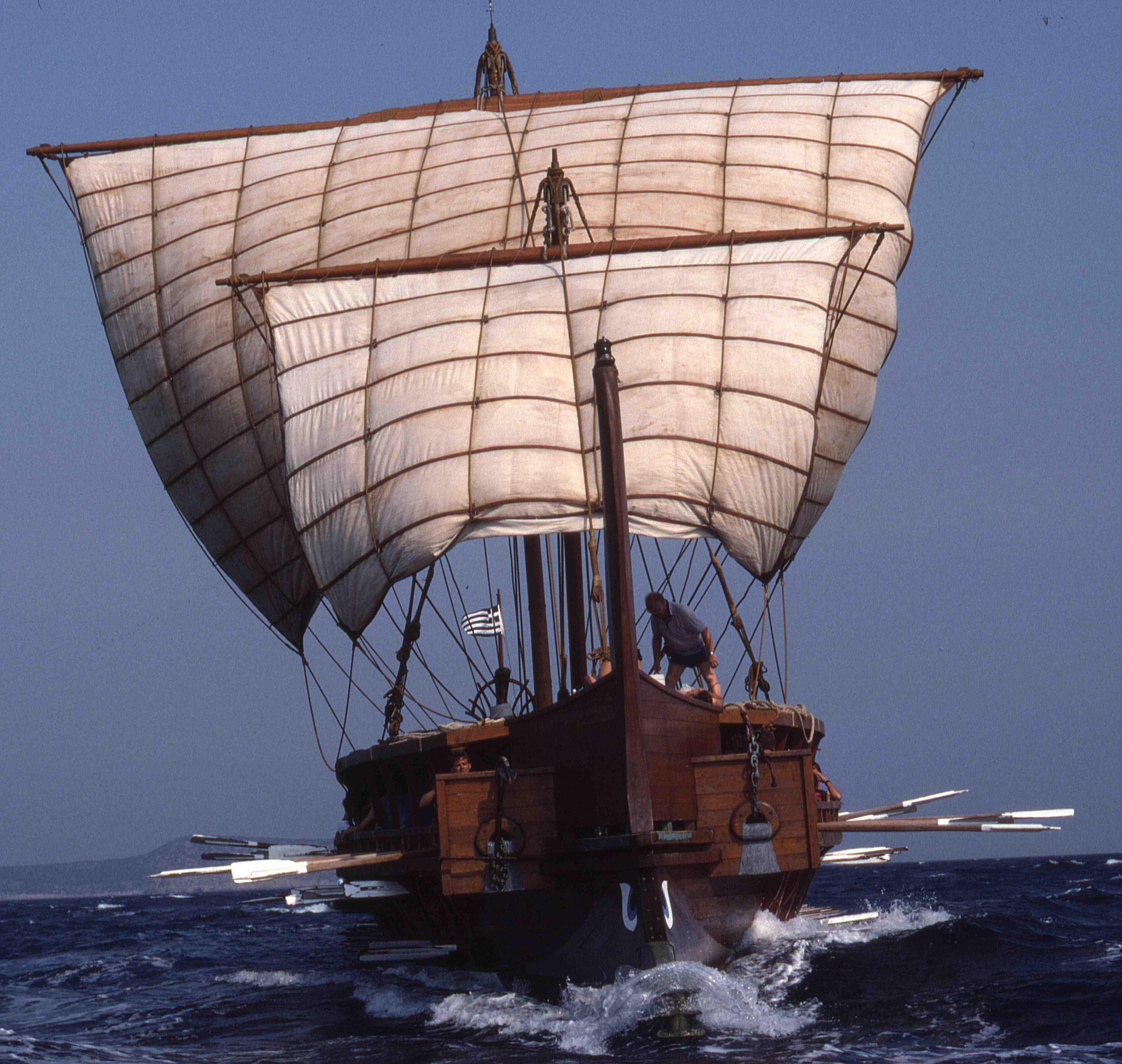 Olympias-under-Sail-Bows-On-R18-21-00b6780