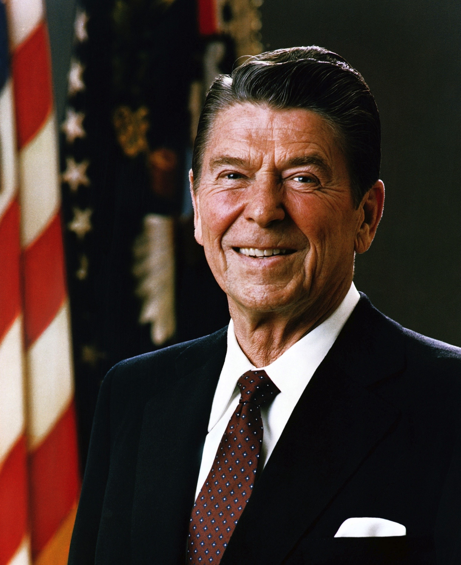 Portrait of President Ronald Reagan, 1981. (Photo by Universal History Archive/Getty Images)