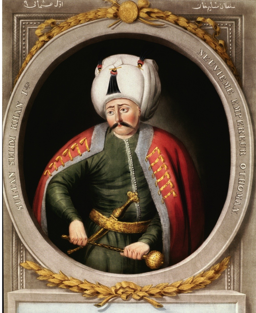 Portrait of Selim I (1512_1520), 9th Sultan of the Ottoman Empire. Topkapi Sarayi Museum Library, Istanbul, Turkey (Photo by Leemage/Corbis via Getty Images)