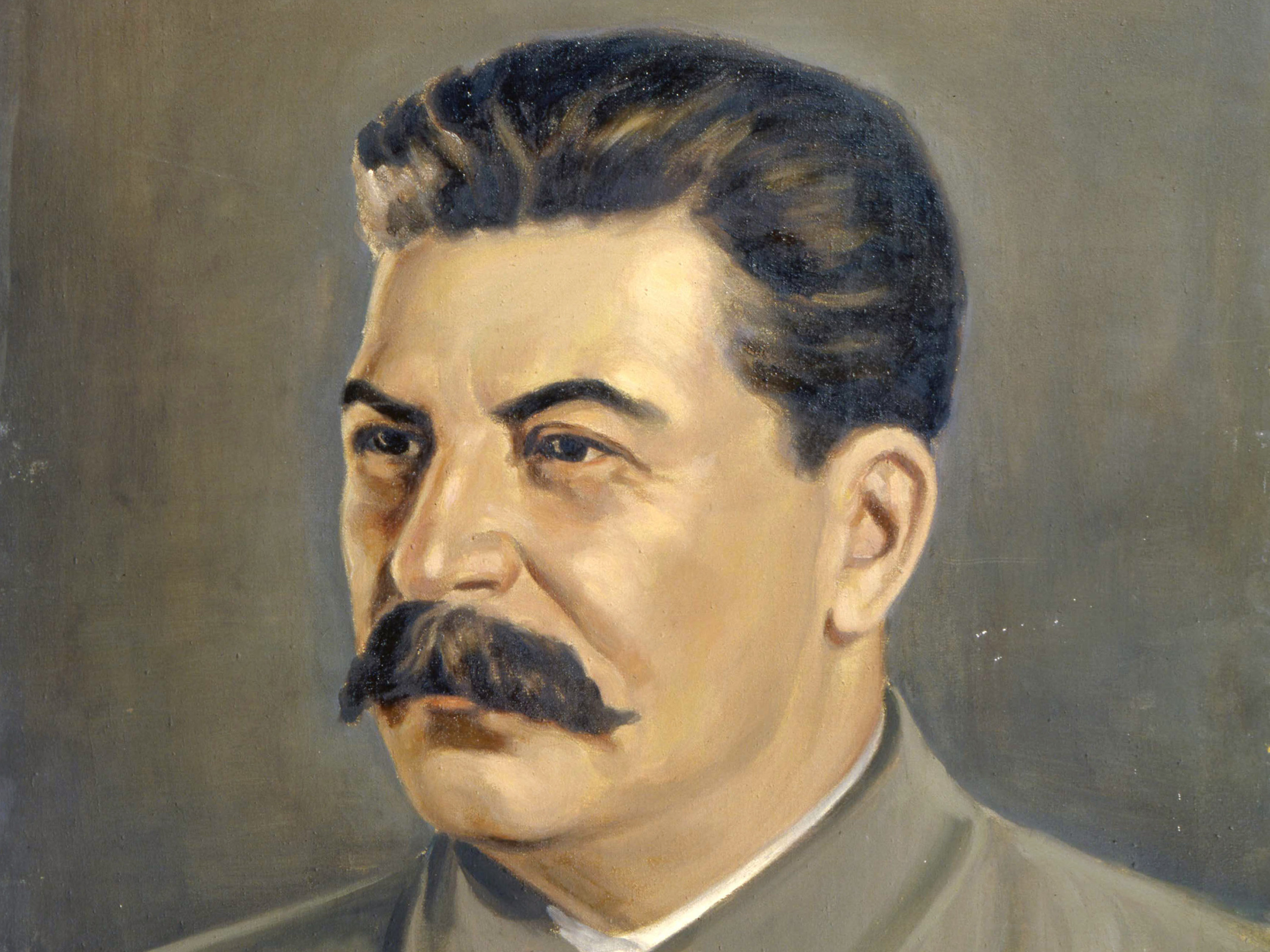 Painting of Joseph Stalin