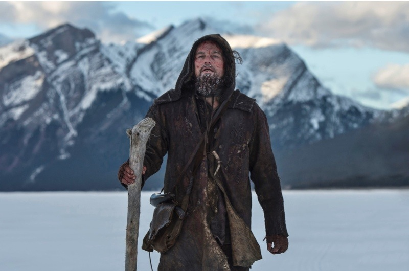 DF-21699R – Guided by sheer will and the love of his family, Hugh Glass (Leonardo DiCaprio) must navigate a vicious winter in a relentless pursuit to live and find redemption.