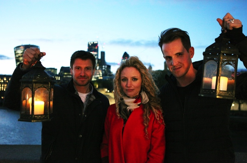The Great Fire - Presenters Rob Bell, Dr Suzannah Lipscomb and Dan Jones.